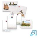 Конверты, открытки, бланки, книги